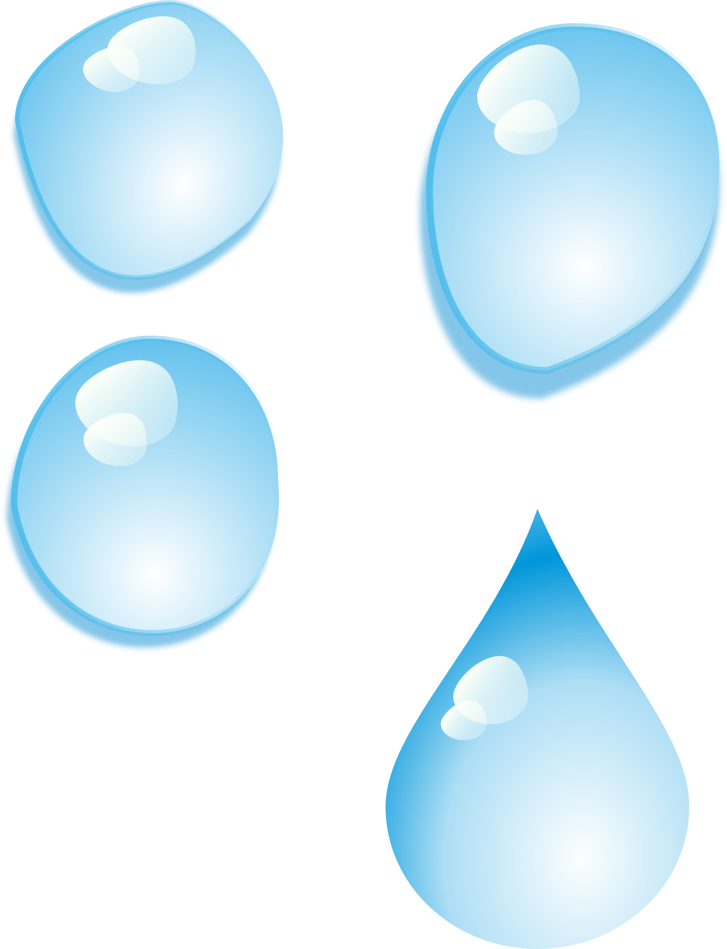 Liquid clipart teardrop Download on  Water Clip