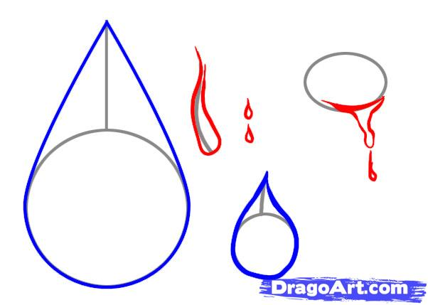Liquid clipart teardrops falling People to How Drawing to