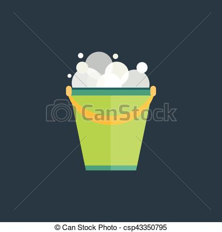 Liquid clipart water bucket Illustration of or water Green