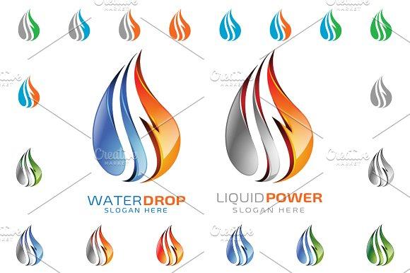 Liquid clipart water energy Liquid Creative 3D Liquid logo