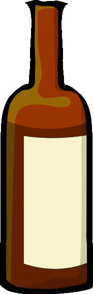 Wine clipart liquor bottle Art art Wine Clker at