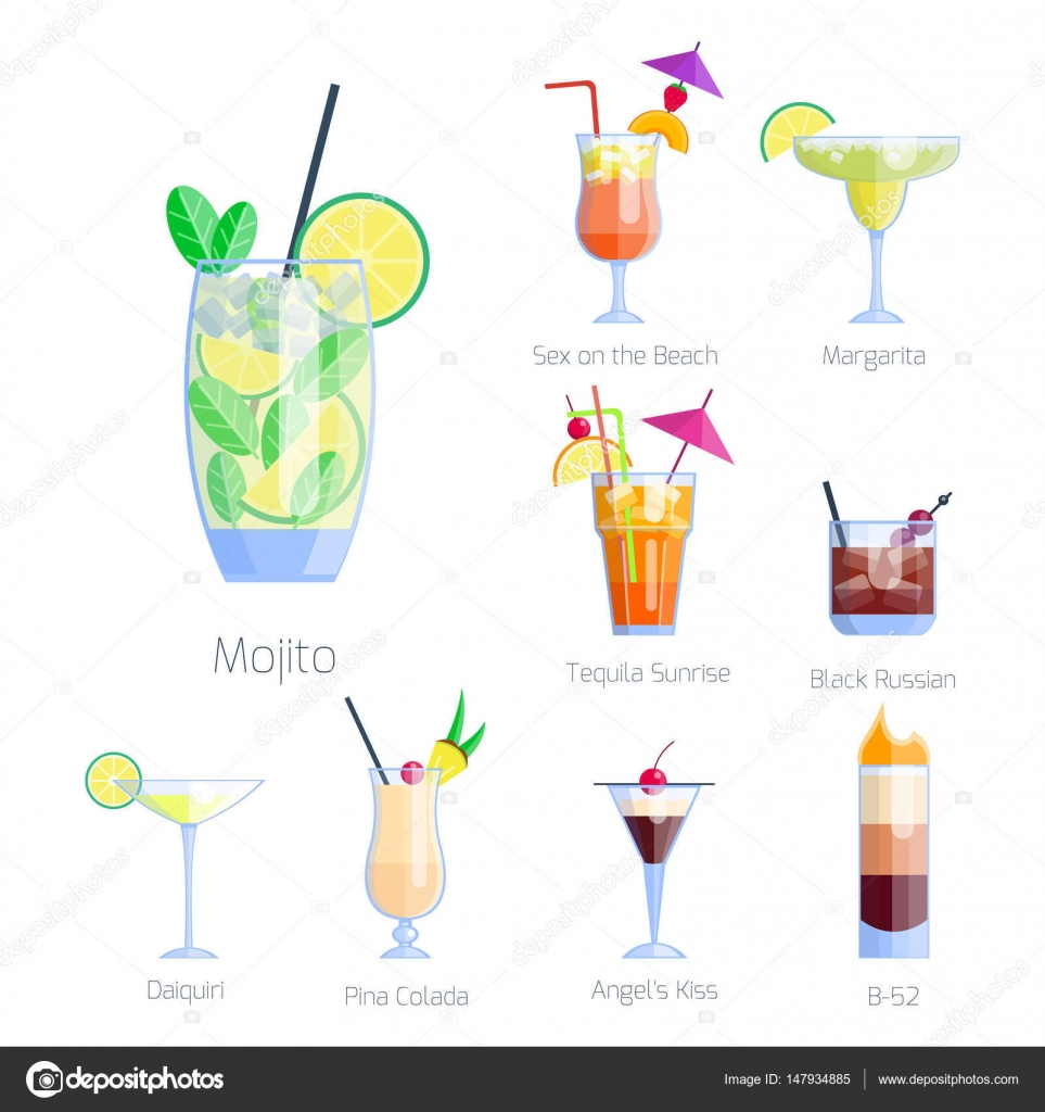 Liquor clipart cold drink Fruit  drinks isolated isolated