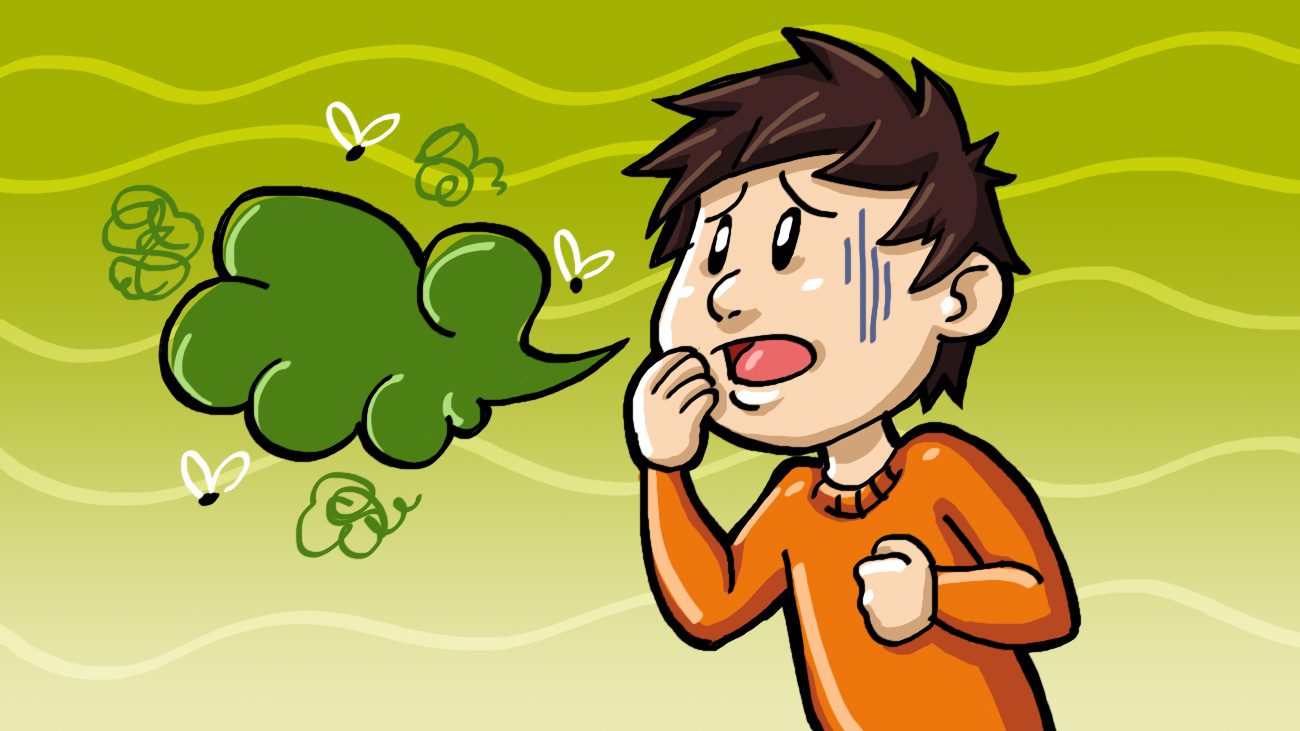 Onion clipart stinky From And Body Top Smells
