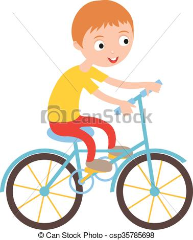 Little Boy clipart active Cartoon Little csp35785698 his of