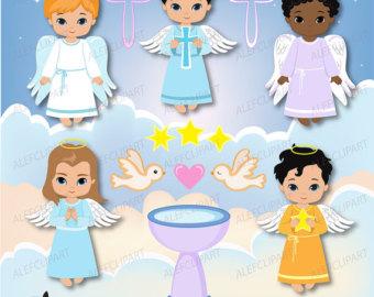 Little Boy clipart angel Boys Etsy / angels Clipart