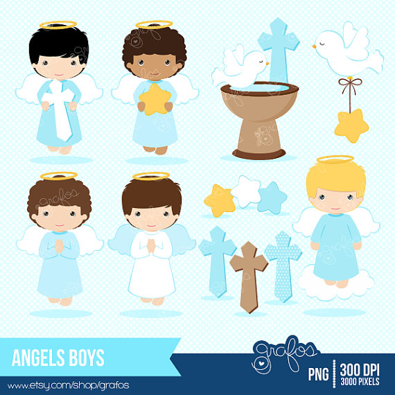 Little Boy clipart angel Baptism Clipart Download Angel Clipart