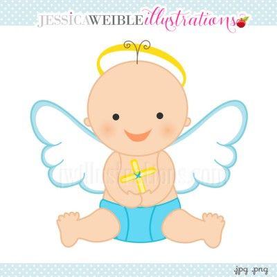 Little Boy clipart angel Art Download Clip Boy –