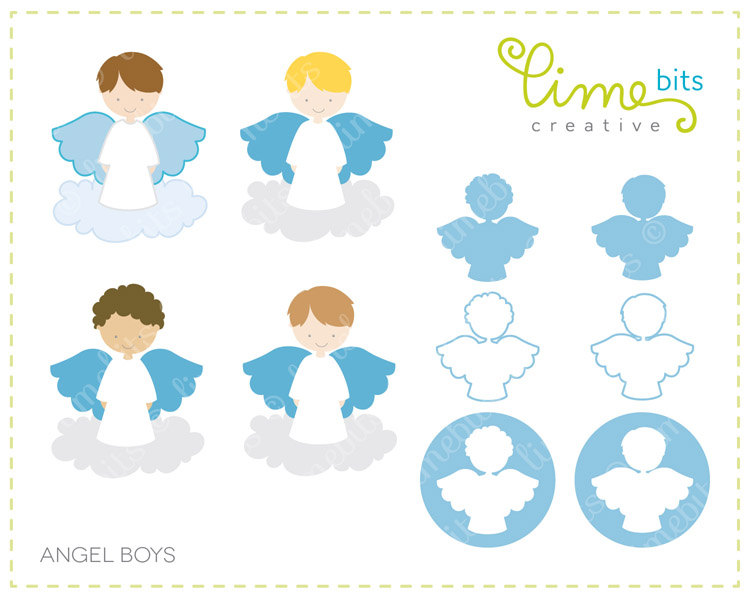 Little Boy clipart angel Clip on Download  boy
