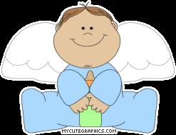 Little Boy clipart angel Boy Little Clip Angel Little