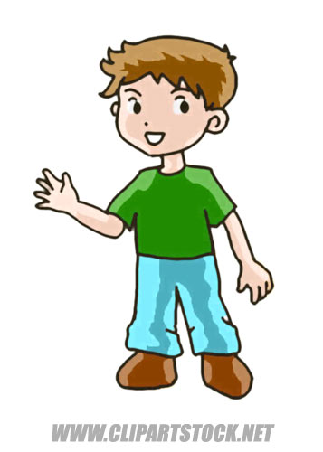 Moving clipart boy Kid Boy Clipart Little colouring
