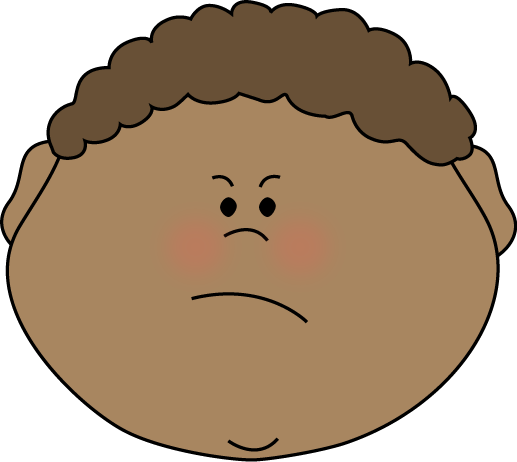 Larger clipart mad guy Art Clip  Clipart Face