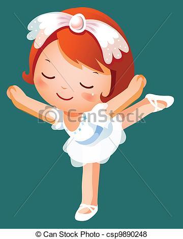 Little Boy clipart ballet Girl A wearing little girl