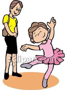 Little Boy clipart ballet Child Girl Clipart Dancing Ballet