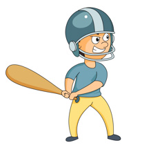 Boy clipart baseball player Free angry at Graphics expression