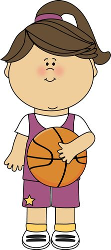 Basket clipart summer picnic Player Image Art Player Basketball