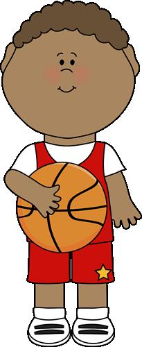 Little Boy clipart basketball player Art Clip Images Player Basketball