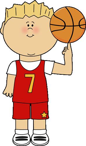 Child clipart basketball Player Art Finger Image Basketball