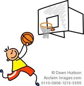 Little Boy clipart basketball player Little a Boy Little a