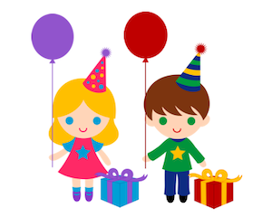 Birthday clipart children's Birthday boy Clip Art Happy