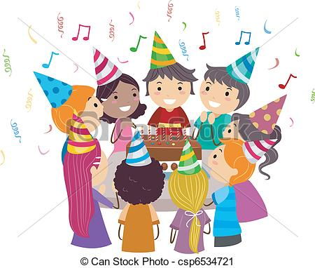 Decoration clipart celebration Birthday Party of Clip Party