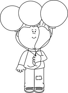 Little Boy clipart black and white Art bed collection clipart boy