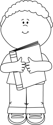 Little Boy clipart black and white And  Hugging and Black