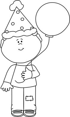 Little Boy clipart black and white And Boy Student white and