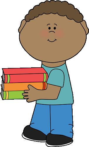 Worm clipart kid book #3