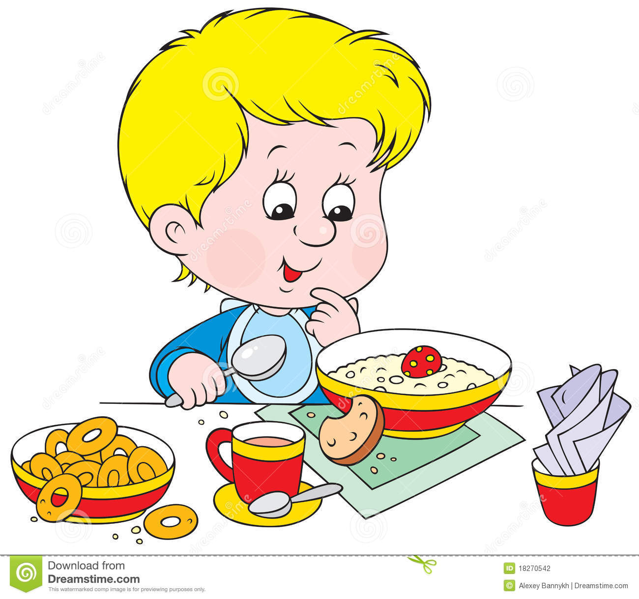 Breakfast clipart little boy Panda Breakfast Images 20clipart Clipart