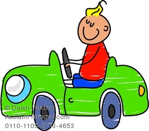 Vehicle clipart drive a A Image Driving Little A