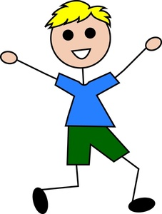 Swing clipart kid happy Clipart Boy Stick Happy Little