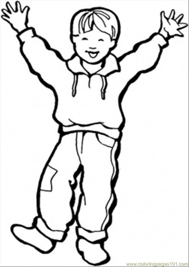 Color clipart boy coloring Boy Art Download coloring Clip