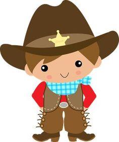 Little Boy clipart cowboy Art Google Personal Digital Cowboy