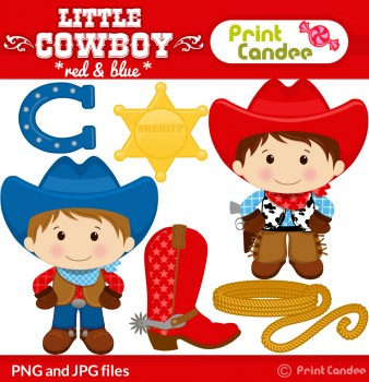 Little Boy clipart cowboy Boy Cowboy  Cowboy birthday