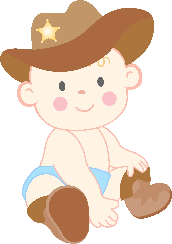 Little Boy clipart cowboy Art Boy Kid Baby Kid