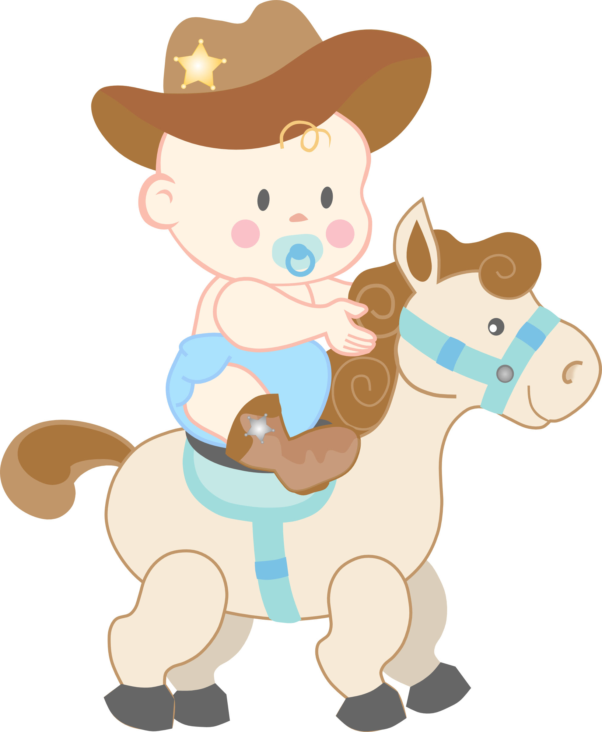 Cowboy clipart baby cowboy Shower Images a and Baby