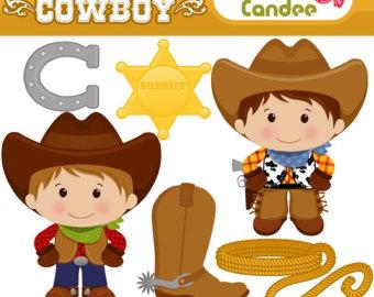Little Boy clipart cowboy Scrapbooking Clip and horse Commercial