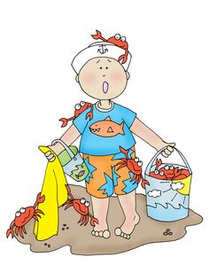 Little Boy clipart crabby Crabby! Dearie  and Stamps