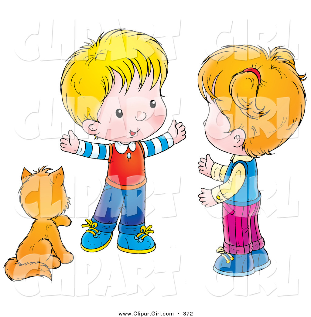 Little Boy clipart cute Of by by Cat a