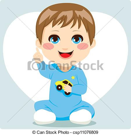 Little Boy clipart cute Smart Baby csp11076809 Clipart Boy