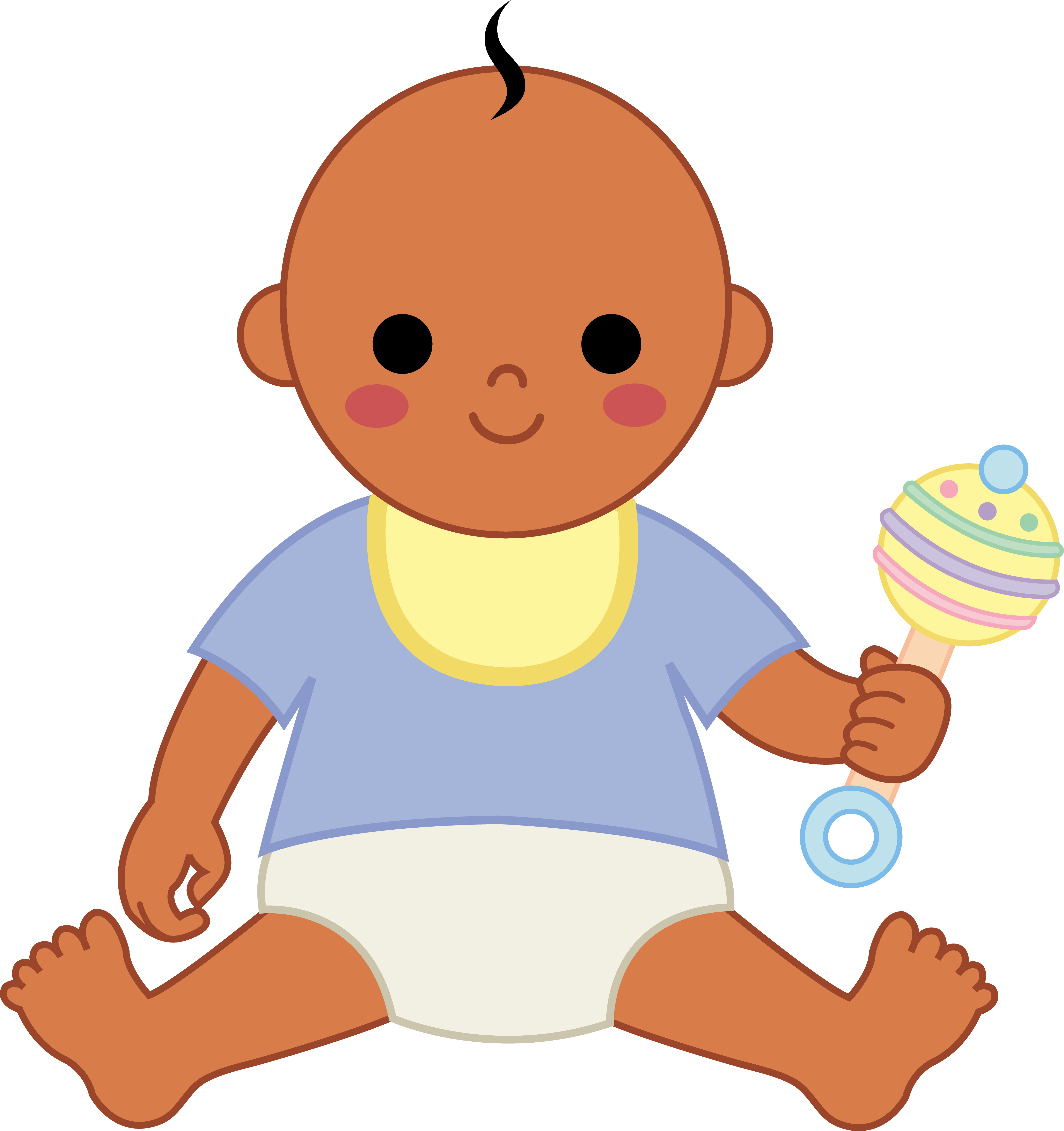 Little Boy clipart cute On Cute Baby Clipart Clipart