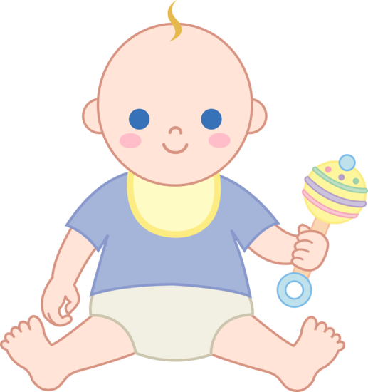 Little Boy clipart cute Rattle Free Boy Boy Baby