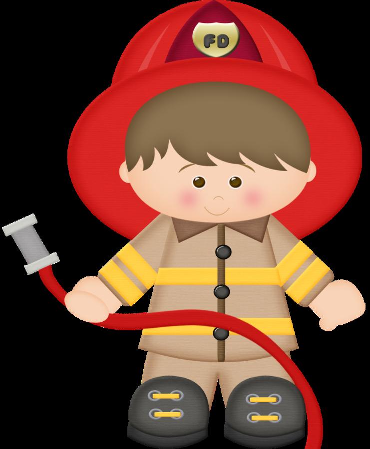 Little Boy clipart fireman De Minus (daniellemoraesfalcao) M Intervention