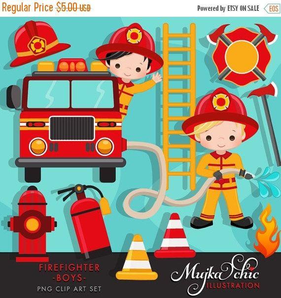Little Boy clipart fireman Fire Clipart 25+ Boys helmet