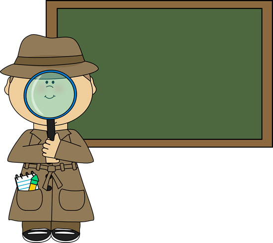 Animal clipart detective And Images Chalkboard Detective Detective