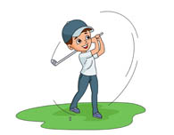 Golf Ball clipart kid golf Swing 44 Results Graphics ball
