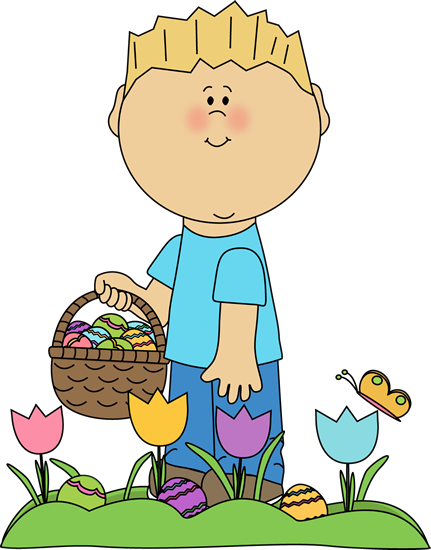 See clipart easter egg hunt #2