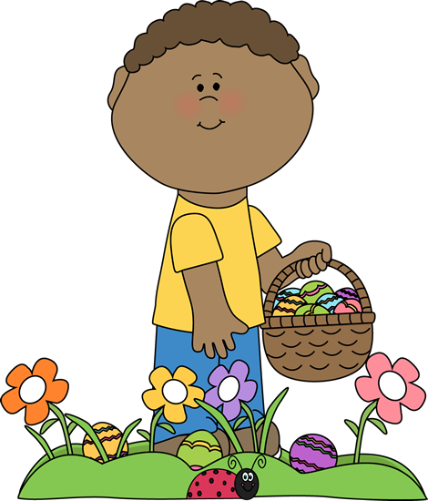 See clipart easter egg hunt #1