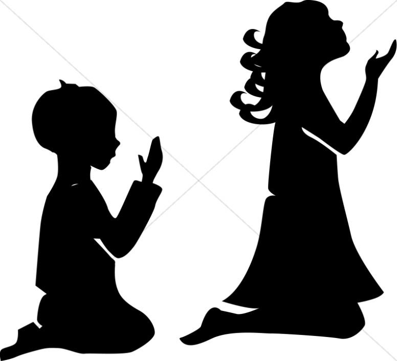 Little Boy clipart kid prayer Sunday clipart praying Prayer Girl