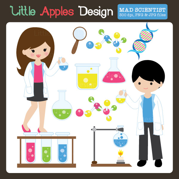 Scientist clipart little scientist Girl girl as Clipart Scientist